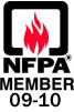 NFPA Member since 09-10